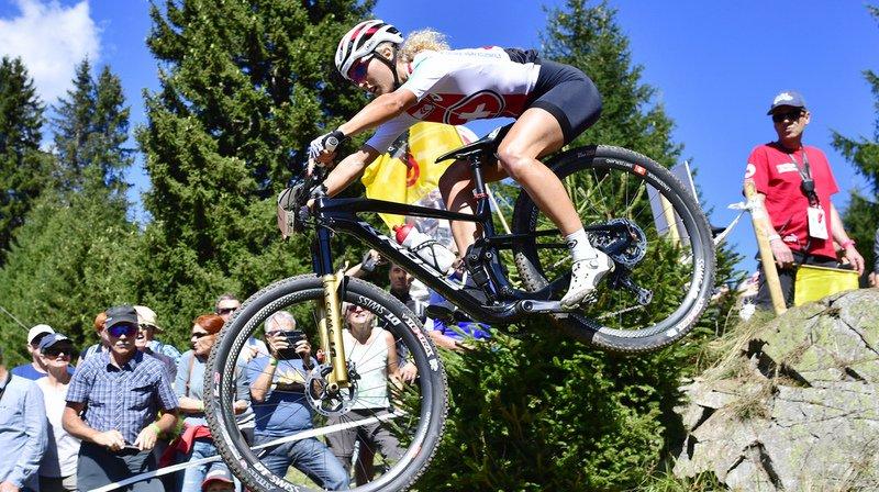 Grande favorite de l'épreuve, la Bernoise Jolanda Neff n'était visiblement pas dans un bon jour.