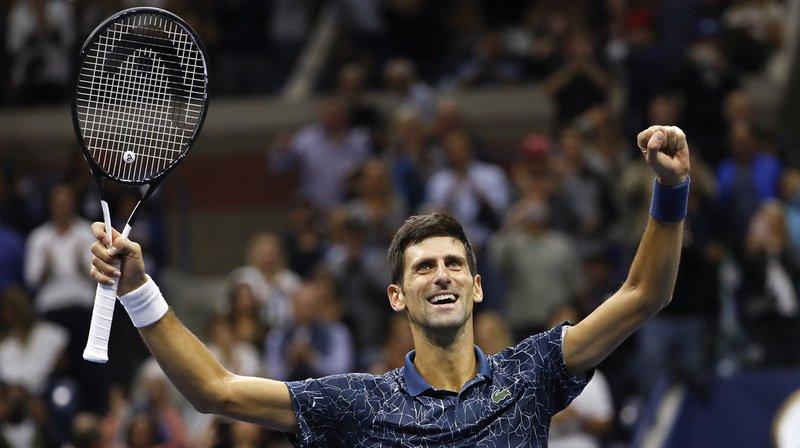 Le Serbe a enlevé pour la 3e fois l'US Open à la faveur de sa victoire en finale devant Juan Martin Del Potro.