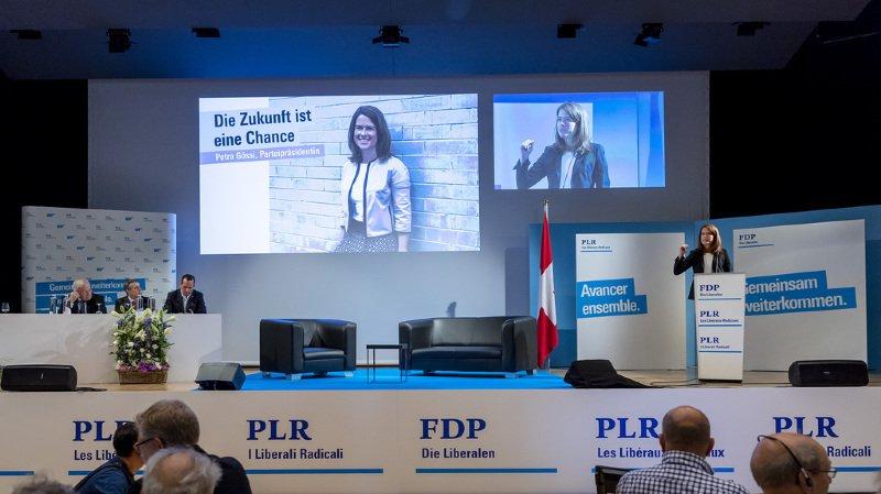 Élections fédérales de 2019: réuni en assemblée, le PLR lance sa campagne