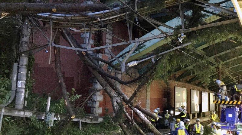Japon: le typhon Trami laisse deux morts et une centaine de blessés