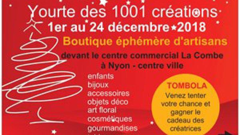 Yourte des 1001 créations - Noël 2018