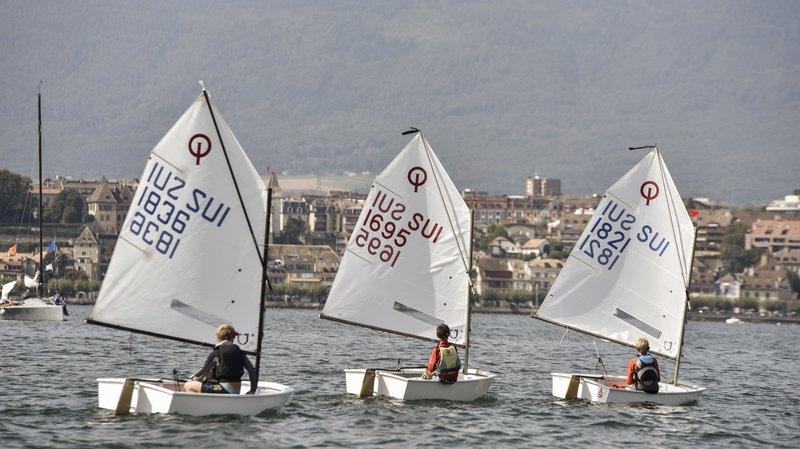 Voile: les meilleurs jeunes navigateurs suisses se sont affrontés à Nyon