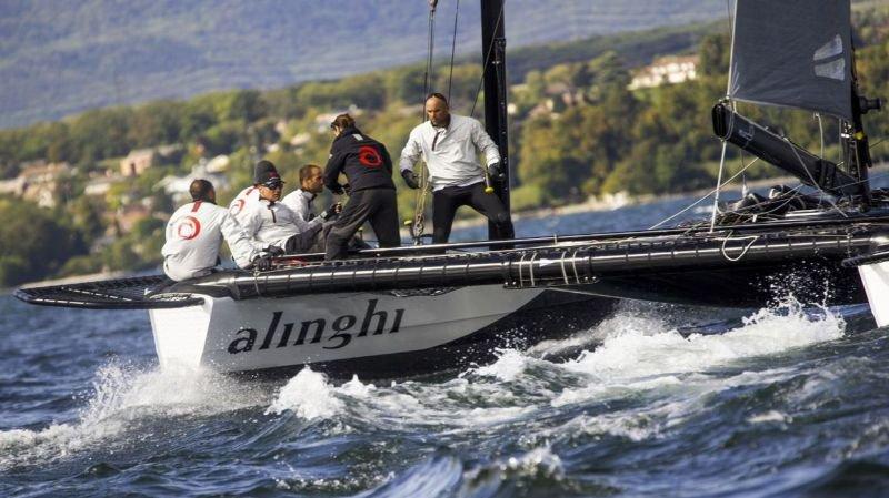 Alinghi remporte un nouveau D35 Trophy