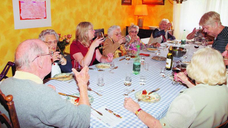 Les tables d'hôtes remportent notamment beaucoup de succès auprès des aînés.