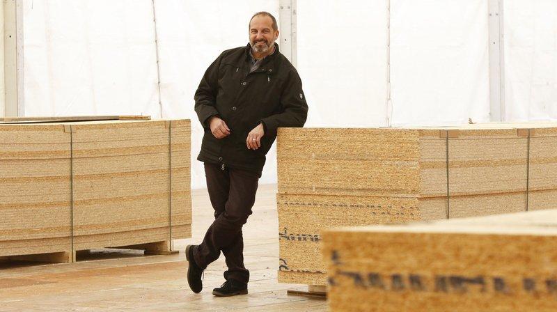 Richard Chassot, organisateur de Divinum, a créé un nouveau salon dédié cette fois à l'apéritif.