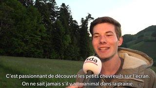Un lycéen sauve des chevreuils avec un drone