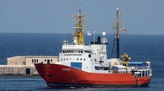 Migrations: le Panama retire son pavillon au navire humanitaire L'Aquarius
