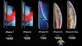 Keynote d'Apple: trois nouveaux smartphones et une montre connectée plus grande