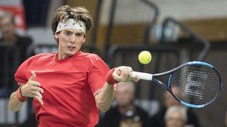 Tennis – Coupe Davis: la Suisse est menée 1 à 0 par la Suède en barrage
