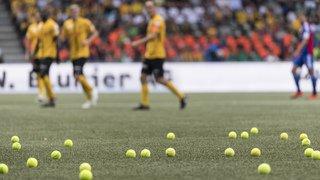 Foot - Super League: des balles de tennis pour protester contre l'e-sport