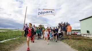 Arnex-sur-Nyon: la marche de l'espoir en images