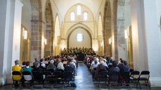 Cinq concerts en trois jours ont sublimé l'abbaye de Bonmont