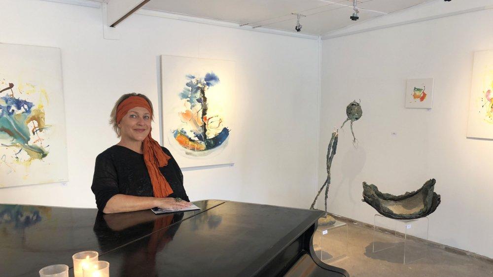 L'inauguration du nouvel espace a également lancé une nouvelle exposition des artistes Katheline Goossens et Patricia Pittet. A découvrir jusqu'au 14 octobre.