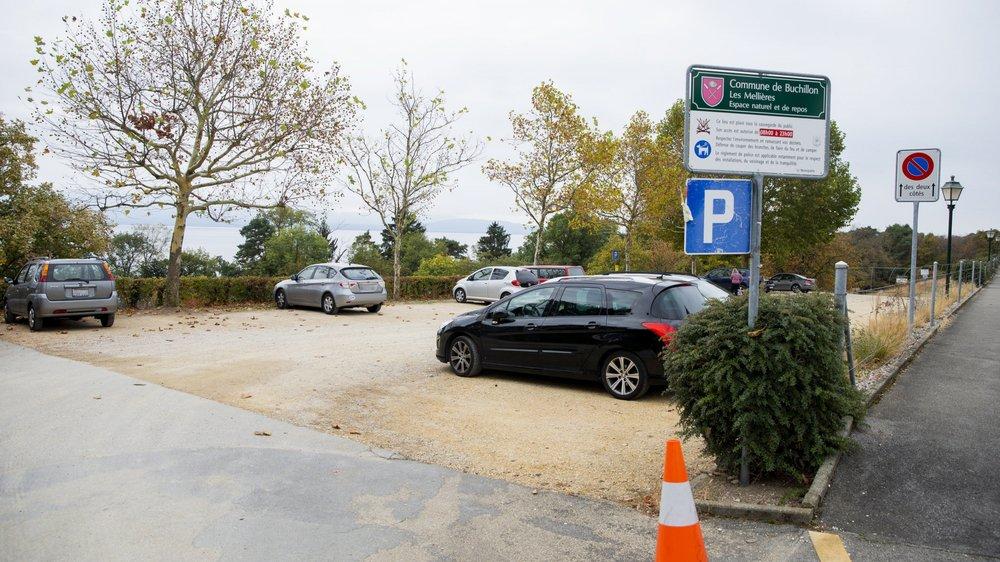 Buchillon revoit sa politique de stationnemen (ici le parking de la plage)