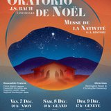 Concert Oratorio et Nativité - Bach/Ristori