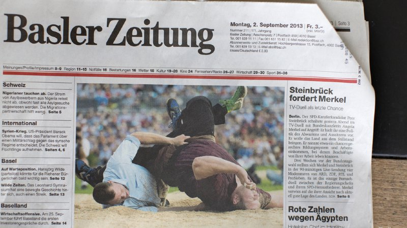 Le groupe Tamedia a obtenu l'autorisation de racheter la Basler Zeitung.