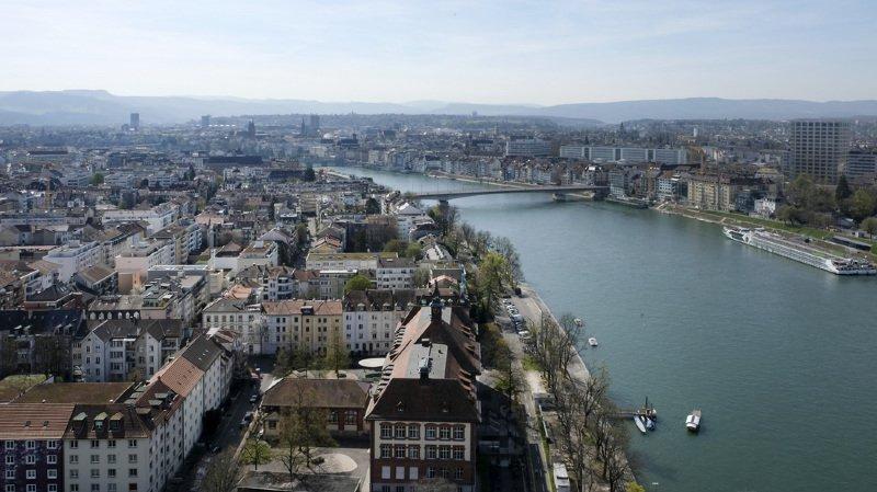 Selon SRF, 10% des biens sont importés via le Rhin (archives).