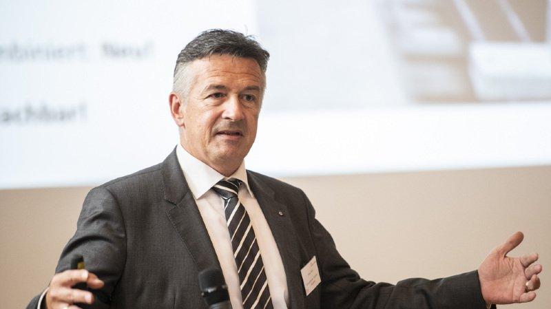 Succession Schneider-Ammann: le conseiller aux Etats nidwaldien Hans Wicki est candidat