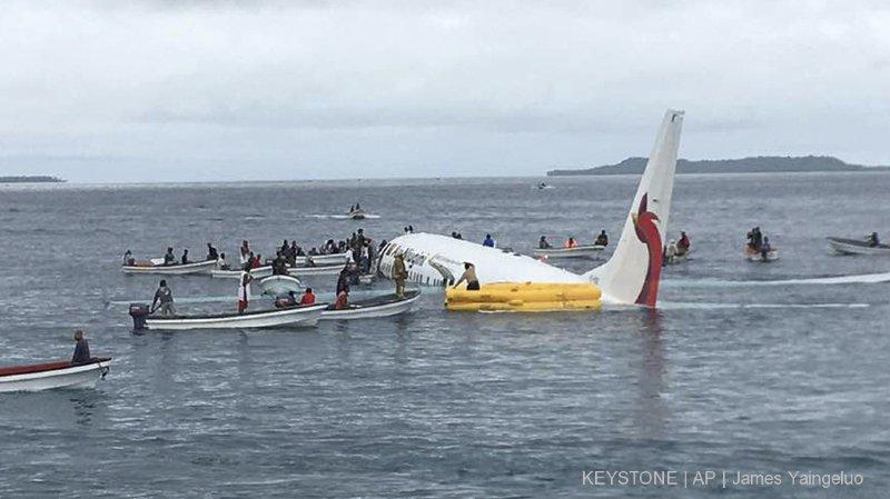 Micronésie: un corps sans vie découvert dans l'avion qui s'était crashé dans un lagon