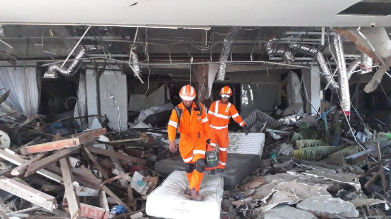 Indonésie: le bilan du séisme et du tsunami aux Célèbes dépasse les 1400 morts