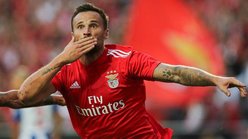 Football: Haris Seferovic offre la victoire à Benfica contre Porto