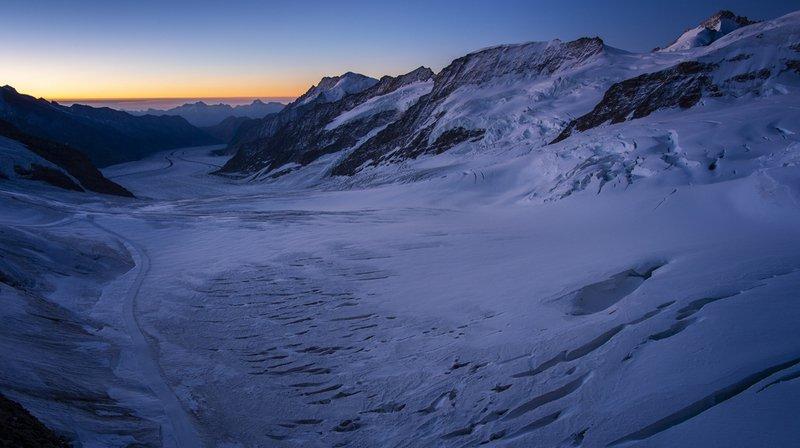 Climat: les glaciers ont souffert de l'été caniculaire et perdu de leur épaisseur