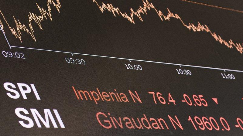 La Bourse suisse a ouvert en net repli jeudi, dans le sillage de la chute des indices américains mercredi à Wall Street.