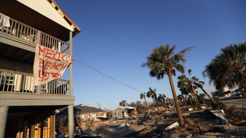 Etats-Unis: les recherches se poursuivent après le passage de l'ouragan Michael