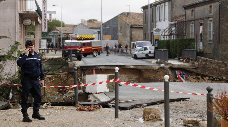 France: le bilan des inondations meurtrières dans l'Aude revu à 12 morts