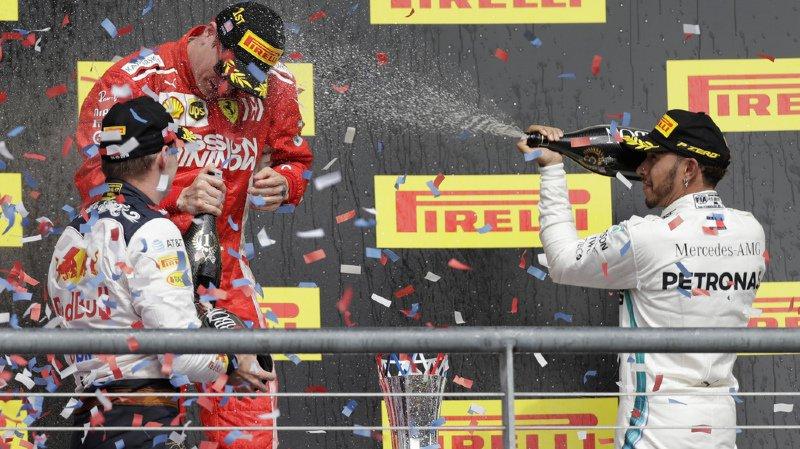 Formule 1: Kimi Raikkonen s'impose aux Etats-Unis, Lewis Hamilton devra attendre pour son titre mondial