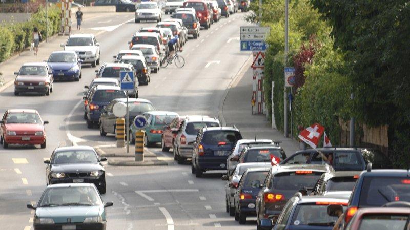 L'avenue des Eules à Nyon sera en travaux du 15 au 26 octobre.