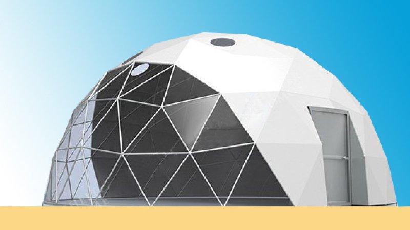 La Grande Jetée accueillera bientôt un restaurant sous un dôme transparent