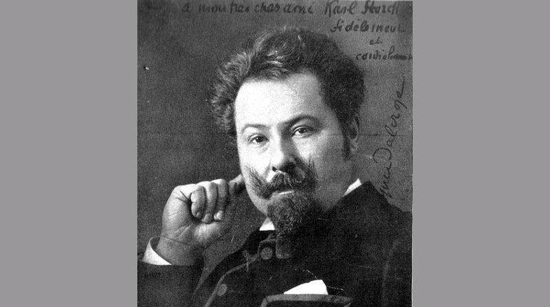 Le musicien-compositeur Émile Jaques-Dalcroze.
