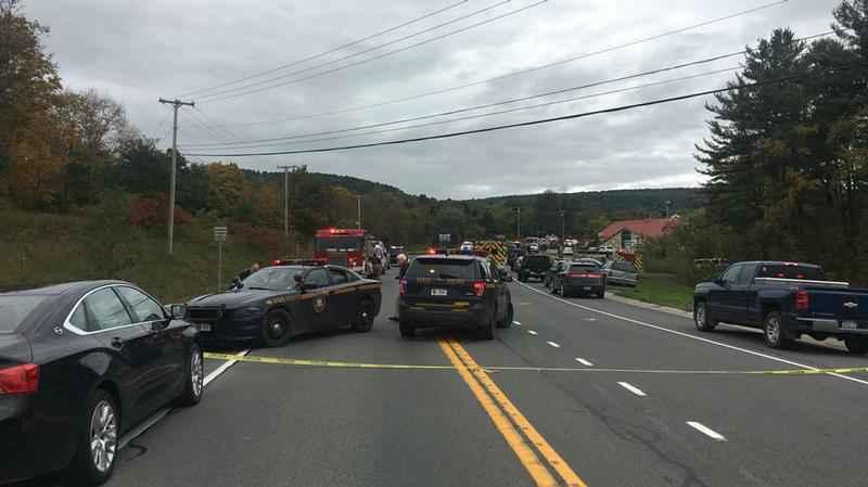 Des enquêteurs du National Transportation Safety Board (NTSB) ont été dépêchés sur les lieux.