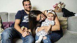 Née le 14 avril, la petite Elsa Salvi est la 100'000e habitante du district de Nyon