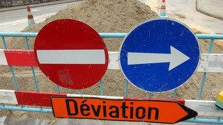 La route Suisse entre Mies et Tannay sera partiellement fermée du 13 au 17 octobre
