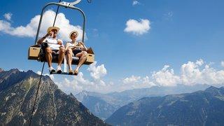 Remontées mécaniques suisses: le bilan de la saison d'été est très bon