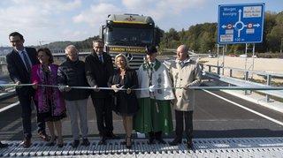 La RC 177 entre Cossonay et Aclens a été inaugurée