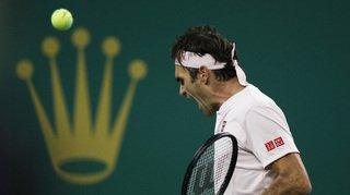 Tennis - Masters 1000 de Shanghaï: Federer bat Roberto Bautista Agut en 3 sets et file en quarts