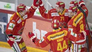 Hockey - National League: Bienne écrase Genève, Fribourg gagne face à Lugano