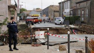 France: le bilan des orages et des inondations dans l'Aude s'établit à 9 morts