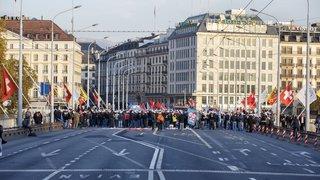 La grève se poursuivra dans les rues de Genève mercredi