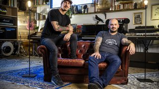 Deux Genevois font le pari d'ouvrir un studio d'enregistrement à Gimel