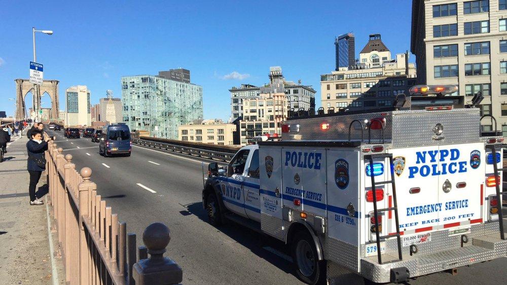 Pendant la durée du procès, le pont de Brooklyn sera fermé deux fois par jour pour permettre le transport  de Joaquin Guzman, le prisonnier le plus surveillé des Etats-Unis.