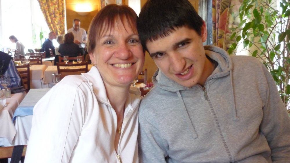 Anne-Claude Moix et son fils Thomas, une complicité vécue au quotidien.
