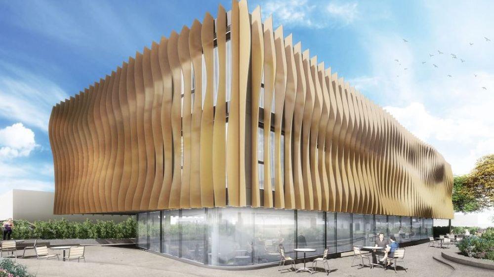 """L'hôtel 3 étoiles """"plus"""" comprendra 33 chambres et un restaurant."""