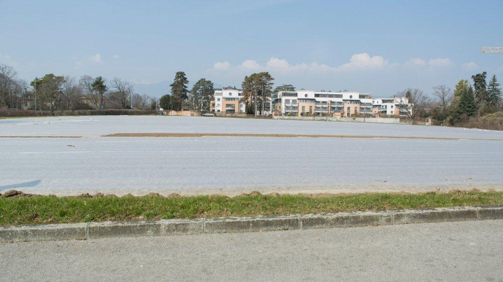 A Nyon, un nouveau quartier est prévu sur cette parcelle.