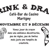 Drink and Draw Valais