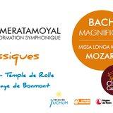 Concert-Magnificat de Bach, Missa Longa de Mozart