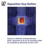 Exposition de Guy Saillen - Huile et aquarelle